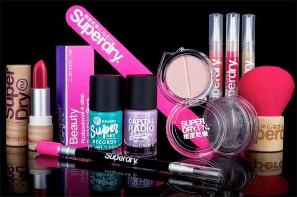 Superdry Unveils Premium Cosmetics Collection